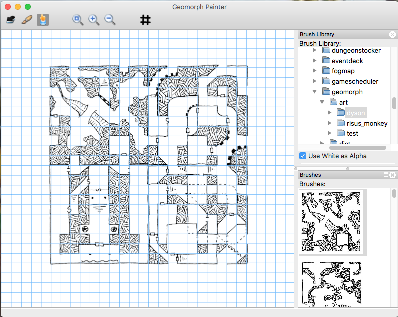 Geomorph Painter for OSX
