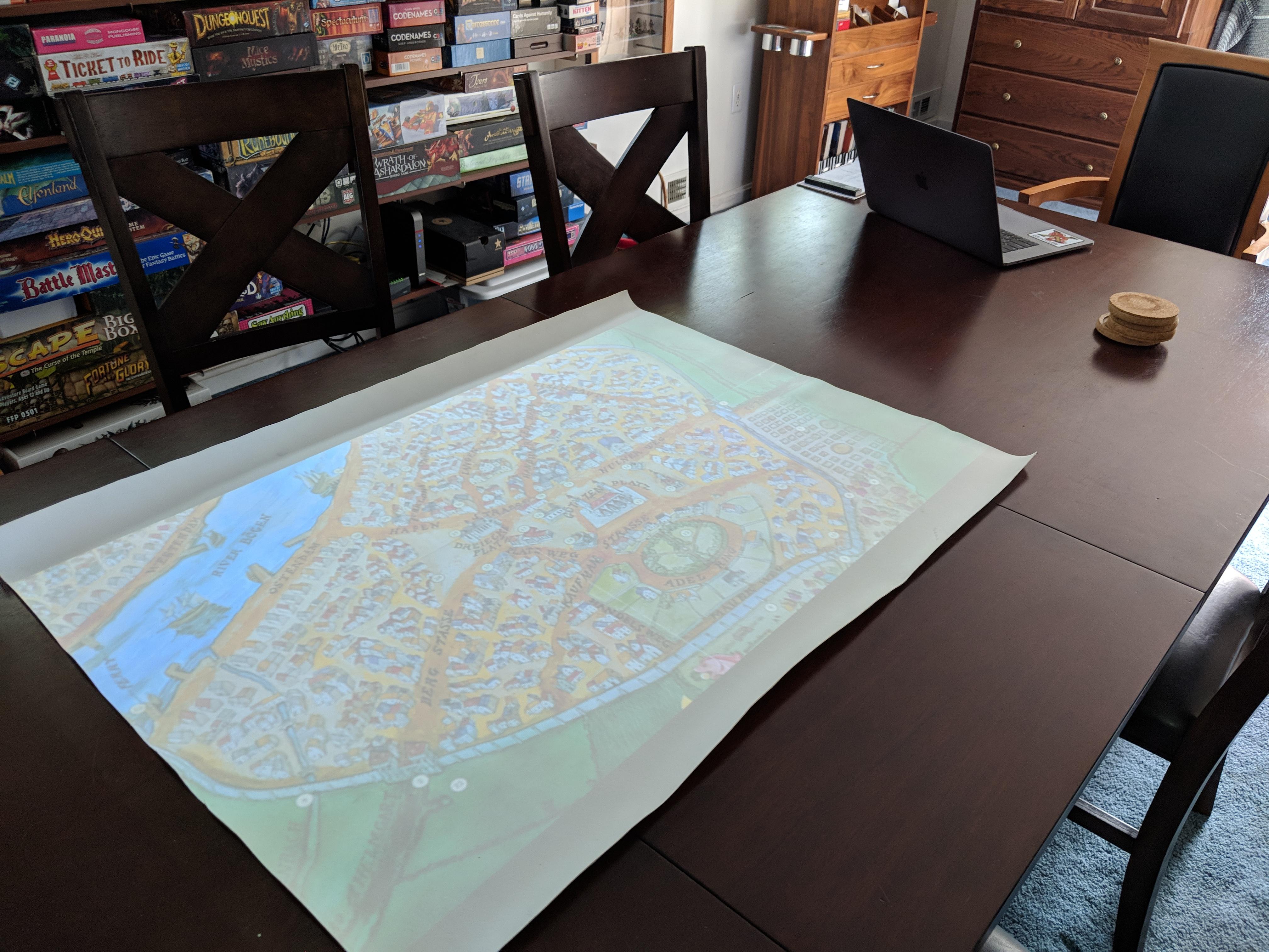 Digital Battle Mat – Take 2