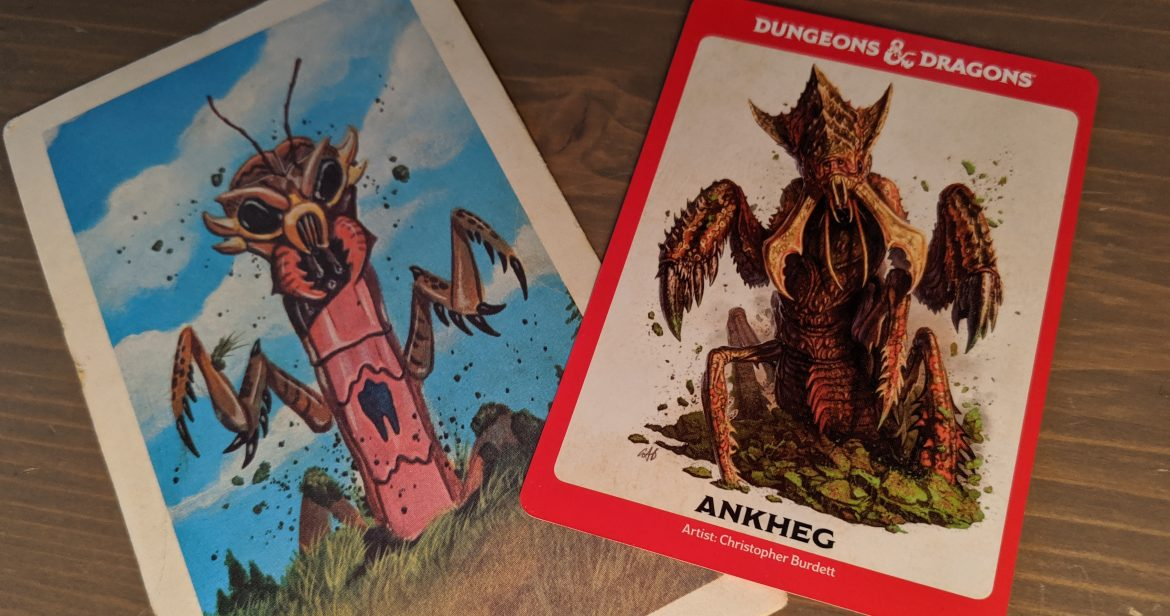 Monster Cards Through The Ages