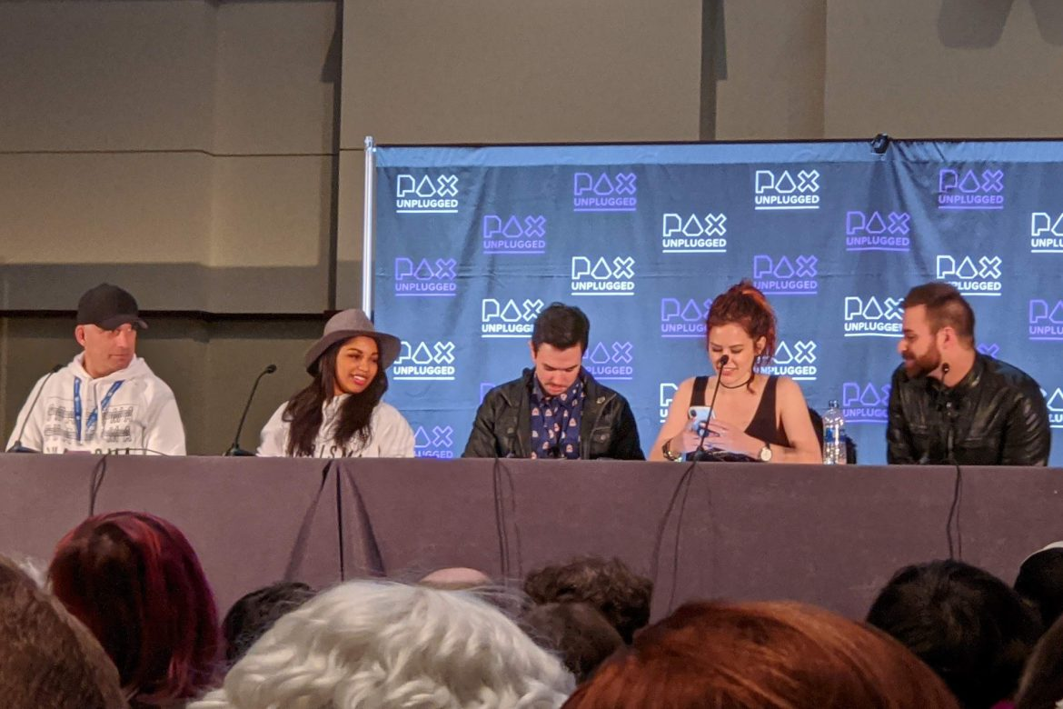 Panels at PAX Unplugged